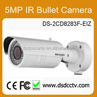 low cost ip camera hikvision DS-2CD8283F-EIZ IR 5MP outdoor Bullet with poe