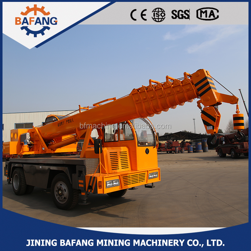 Truck crane 12t for sale made in China/truck hoisting machine