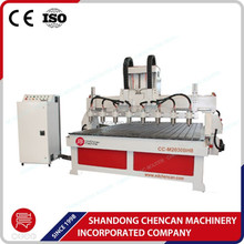multi spindle 3 axis cnc wood milling machine