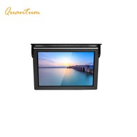 "15,19""industrial roof car lcd monitor with hdmi input display, car headrest monitor with hdmi input, bus TV monitor 24V"
