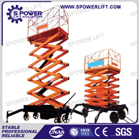 Low price from Jinan Spower top quality aerial working goods lift