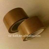 PTFE Adhesive Tape Fabric Rolls silicone adhesion on one side