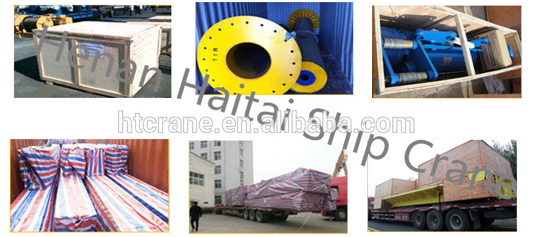Reliable factory pedestal lifting harbour portal crane
