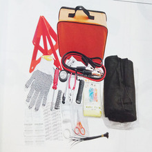 factory 36pcs Auto Car Road Safety Kit/Vehicle Emergency Kit/Travel First Aid Kit