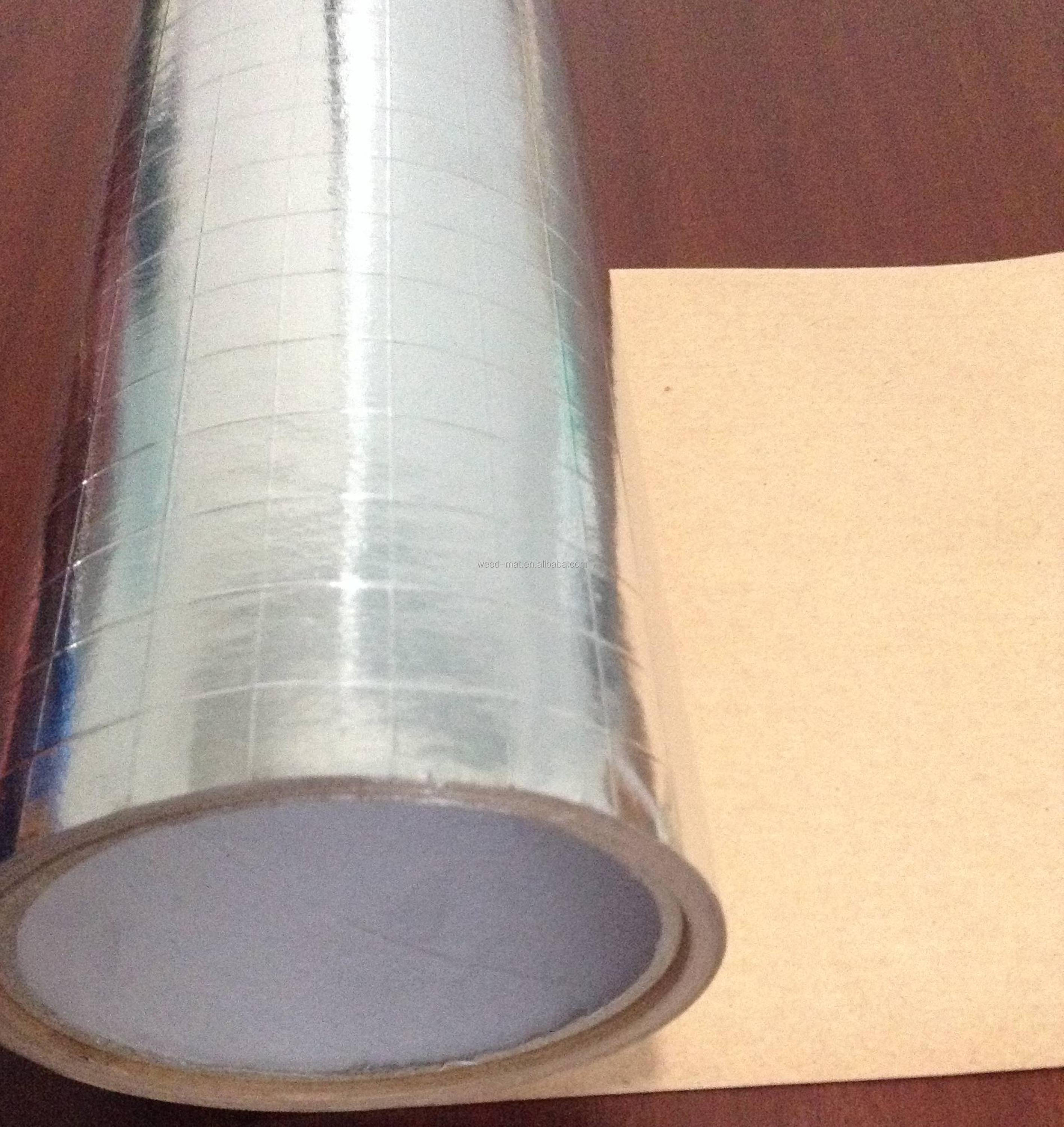 silver FSK aluminum foil scrim kraft facing thermal insulation roll house wrap