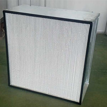 industrial aluminum foil separator box type H13 HEPA filter for terminal air filtration