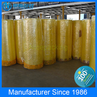 Quality Warranty Jumbo Roll Of Bopp Packing Tape Custom Size Clear Colored Super Strong Adhesive