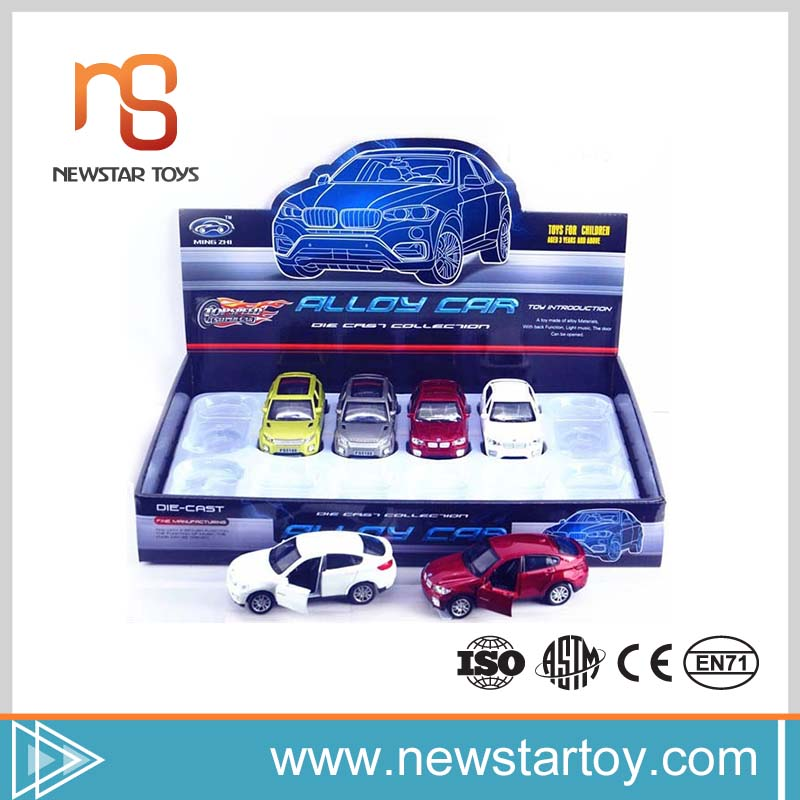 new invented electronic product diecast car model with light