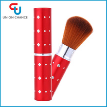 2017 Cosmetic Beauty Accessories Retractable Kabuki Makeup Brush