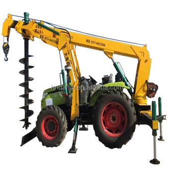 construction site pile driver factory supply hole drilling machine