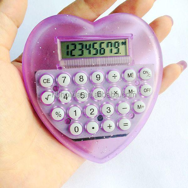 8 digits heart shaped, new love beauty calculator/ HLD-831