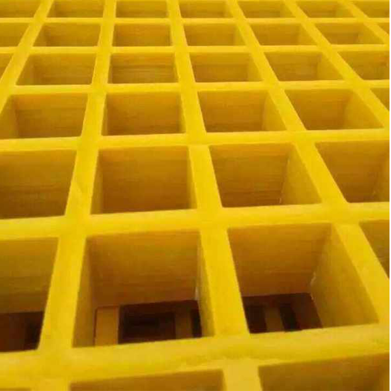 Smooth Surface Black Colour Molding Grating Fiberglass