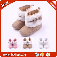 New fashion cheap beautiful snow boots girls baby fur boots