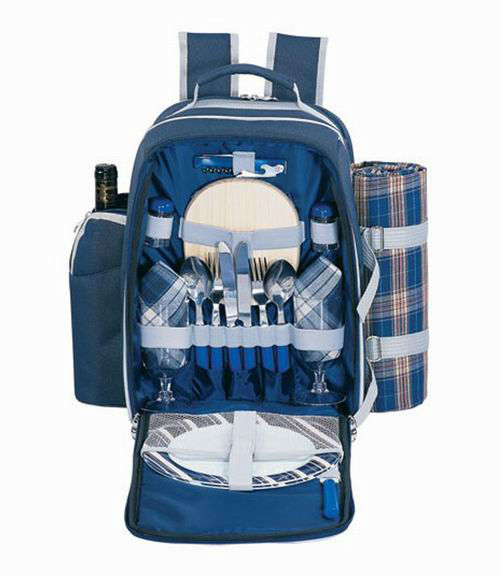Sutherland Blue Alpine Picnic Backpack for 2 person