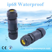 high quality ip68 waterproof cable connector for underwater light