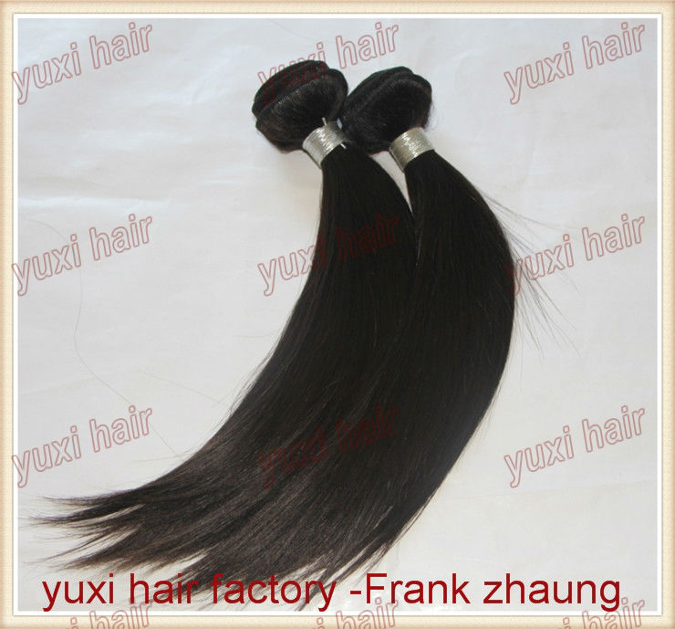 Factory cheap Real 5A Virgin 100% unprocessed brazilian human hair extensions