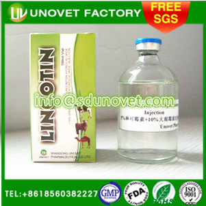 5% Lincomycin + 10% Spectinomycin Injection for horse medicine and veterinary use only
