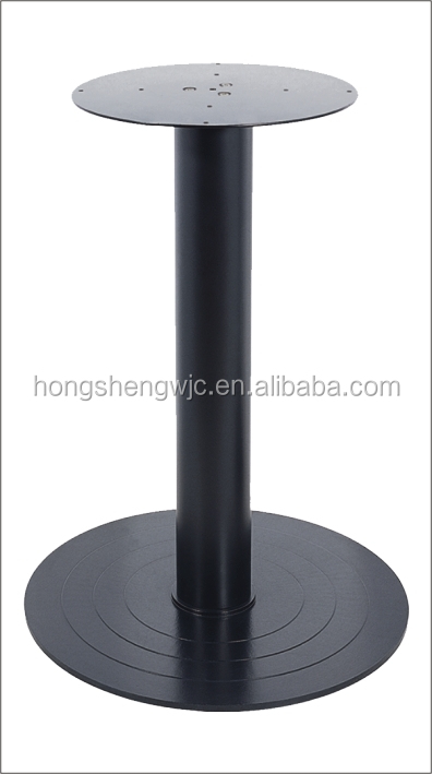 HS-<strong>A008</strong> Round granite table leg fittings metal table leg extensions