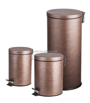 Stainless Steel Painting Rubbish bin