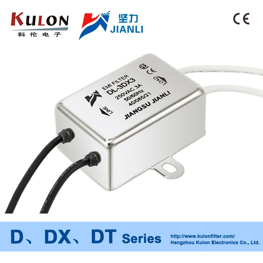 DL-10DT 10A emi electromagnetic interference electronics electrical noise filter