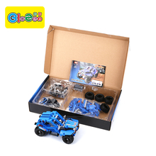 388 Pcs Plastic Abs Building Enlighten Brick Toys For Kids