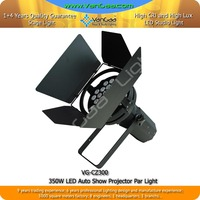2015 New style 300W LED Auto Show Projector With Excellent Effect