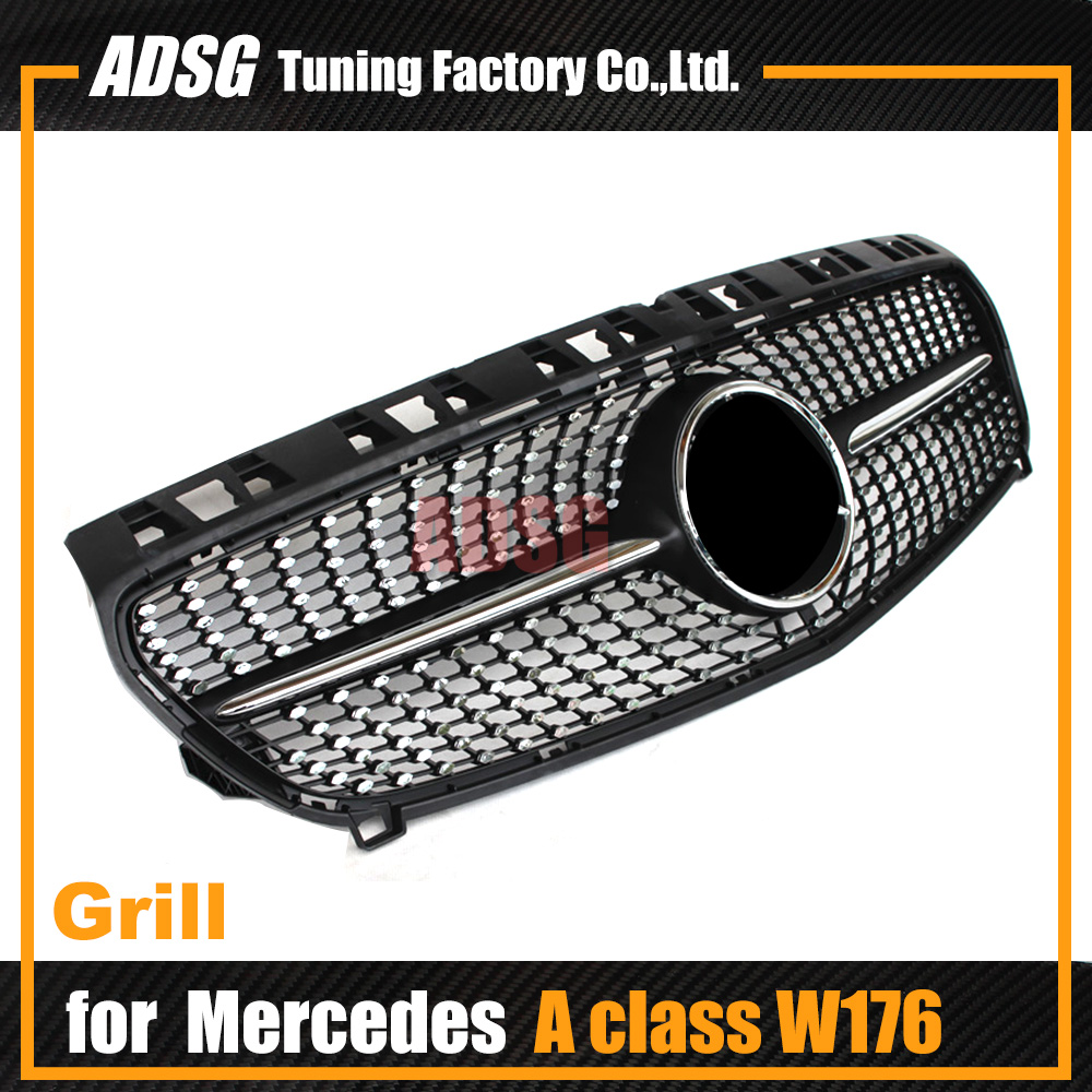 Mercedes W176 Front diamond Grill