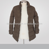 Spring mid length hooded women Jacket