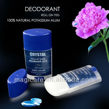 70G Roll on Crystal alum Deodorant