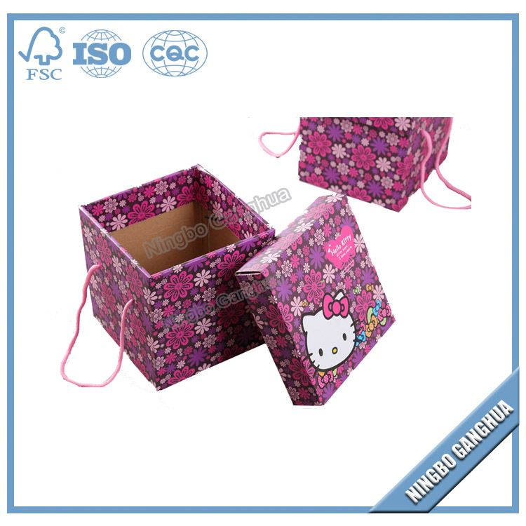 Jewelry Gift Corrugated Recycled Paper Black Pillow Boxes Wholesales