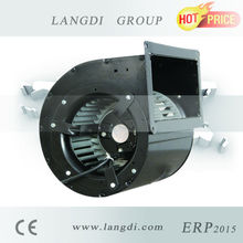 146mm DC dual inlet electric metal mini centrifugal fan for purifier with high pressure