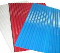 new high strength soundproof galvanized steel ribbed sheet / zinc corrugated roof tile