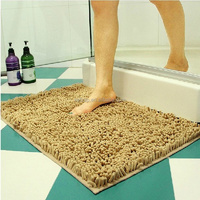 Water-absorbent microfiber chenille japanese filter mat