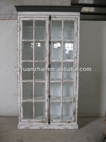 wholesale reclaim wood hotselling antique reproduction white bookcase