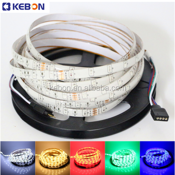 high quality 12v waterproof decoration Smd 3528 RGB led strip
