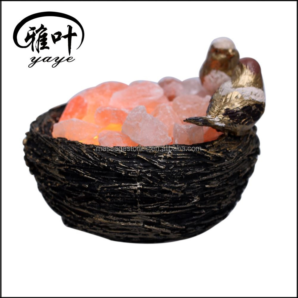 Wholesale Natural Salt lamp with Himalayan Crystal Salt for Decoration