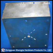Custom Lock Boxes Metal Sheet Stamping Parts Fabrication for Electronics