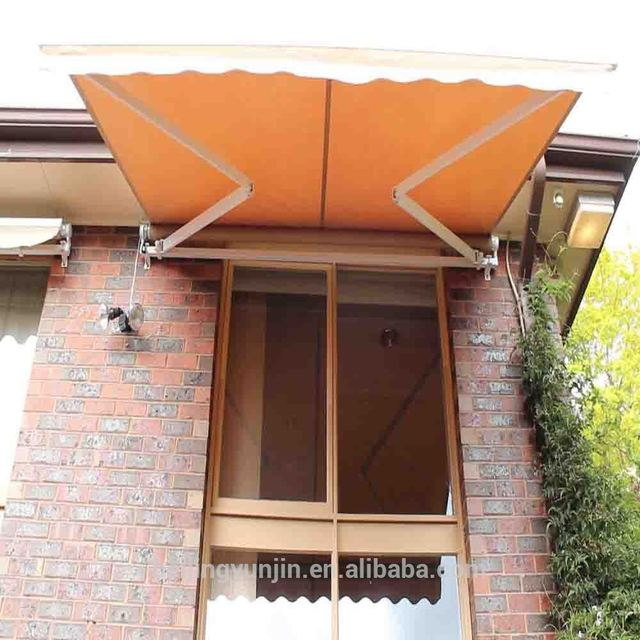 Professioanl manufacturer retractable semi cassette awnings of China