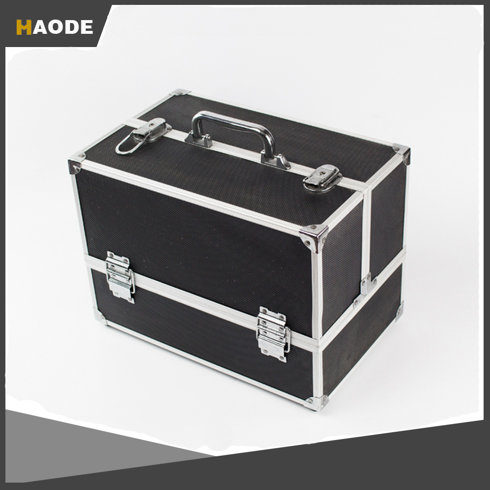 Aluminum Hard Tool Case with Fold Out Tray