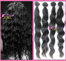 wholesale perfect XBL tangle and shedding free loose wave virgin brazilian human hair extension