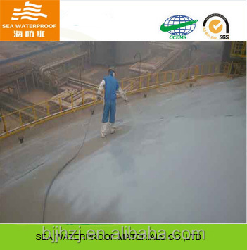 Acrylic polymer waterproof coating for interior building waterproofing