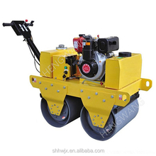 3 ton double drum road roller Hydraulic asphalt compactor used vibrator road machine