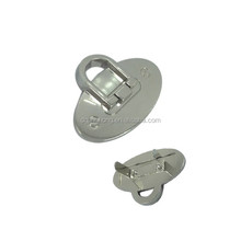 Cheap factory sale new metal handbag locks and hardware