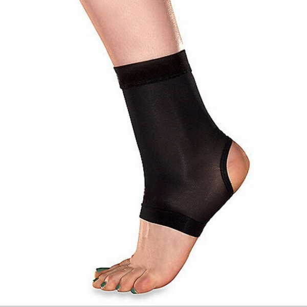 Wholesale Best Quality Elastic Copper Foot Compression Sleeve Ankle Support