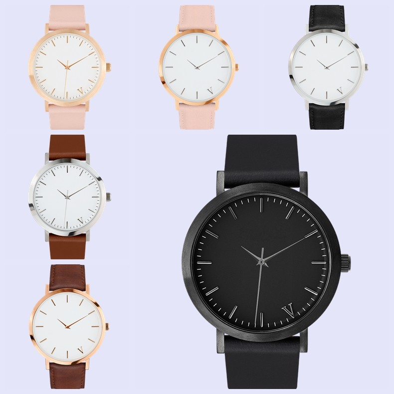 Vogue Uniform Wares Minimal Best price Wholesale horse style watch custom logo luxury mens watch