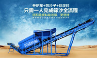 electric screen sand machine for sale