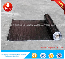 China cheap self adhesive waterproof membrane price for basement waterproofing used
