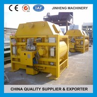 Construction Equipment two horizontal shaft forced concrete mixer for rent