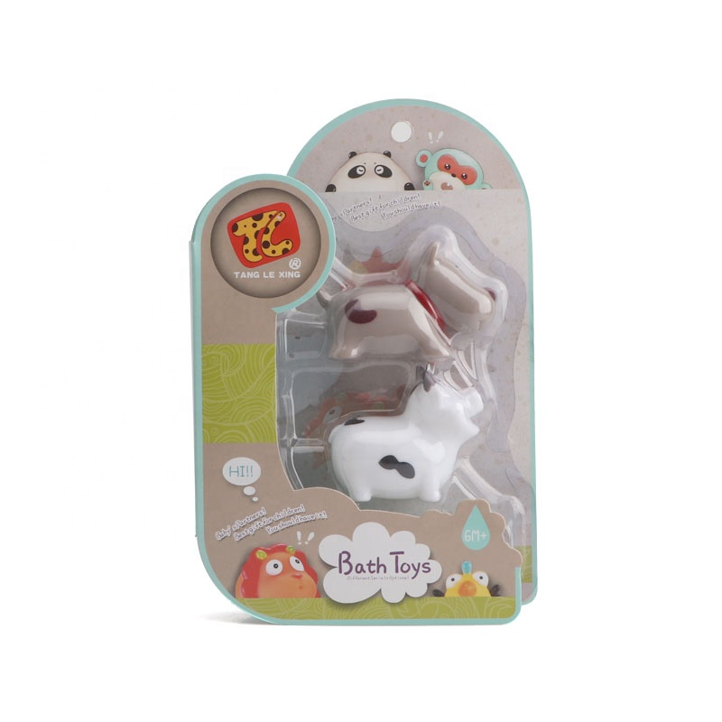 Best selling eco-friendly PVC material lovely animal bath set toy for baby