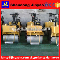 Chinese brand double drums road roller, JinYao road roller with best pump, gasoline roller with high power